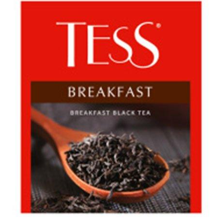 Чай Тесс (Tess) Брекфест чёрный для сегмента HoReCa, 100пак.