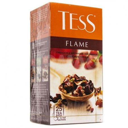 Чай Тесс (Tess) Флейм травяной 25 пакетиков
