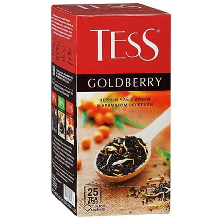 Чай Тесс (Tess) Голдберри чёрный 25 пакетиков