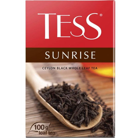 Чай Тесс (Tess) Санрайз черный листовой 100гр