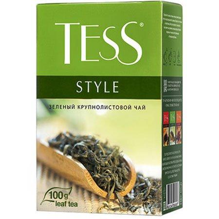 Чай Тесс (Tess) Стайл зелёный листовой с добавками 100г.