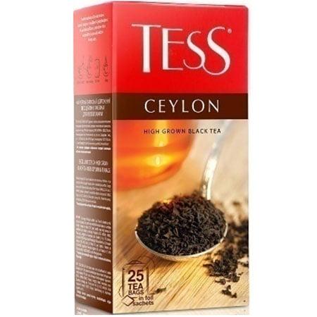 Чай Тесс (Tess) Цейлон чёрный 25 пакетиков