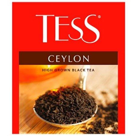 Чай Тесс (Tess) Цейлон чёрный для сегмента HoReCa, 100пак.