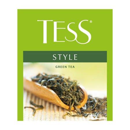 Чай Тесс (Tess) Стайл зелёный для сегмента HoReCa, 100пак.