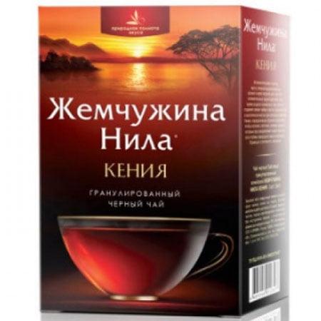 Чай Жемчужина Нила Кения черный гранулированный 100 пак.