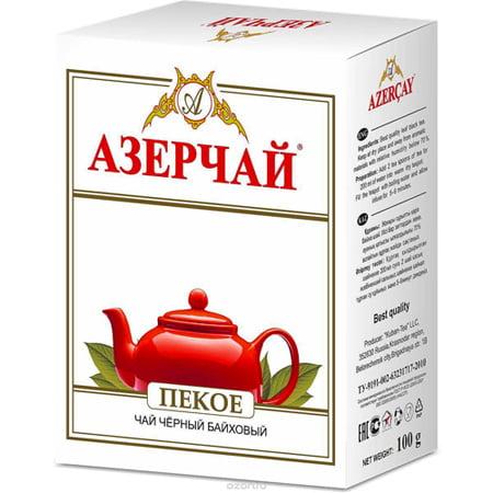 Чай Азерчай черный байховый пекое 100 гр.