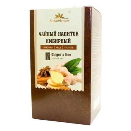 Чайный напиток травяной Алтай Имбирь 20пак/18шт.