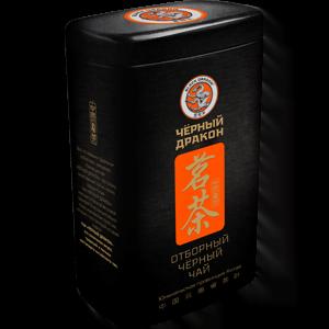 Чай Черный дракон Отборный чёрный 100 гр. ж/б
