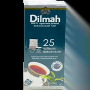 Чай Дилма (Dilmah) черный цейлонский 25 с/я