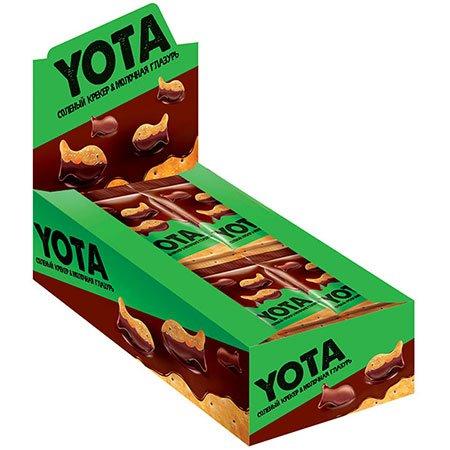 «Йота» Драже Рыбка в молочно-шоколадной глазури, 40 г