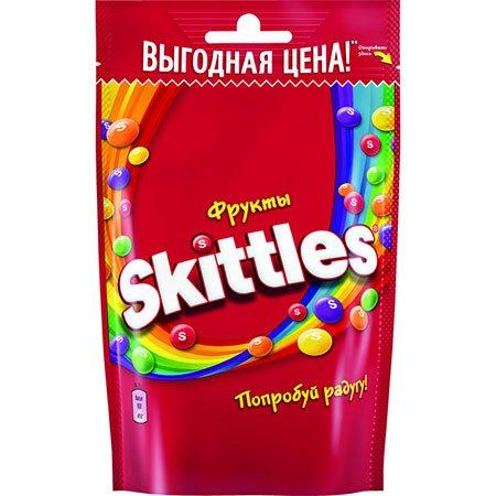 Драже Скиттлс Фрукты, 165гр