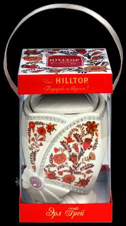 Чай Хилтоп Керамическая чайница + Чай Эрл Грей