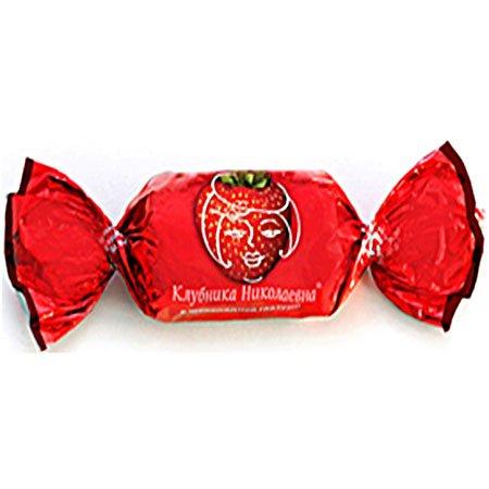 «Фруктовичи» конфеты Клубника Николаевна в шоколадной глазури 1кг