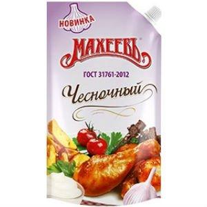 "Майонез Махеевъ ""Чесночный"" 390 гр."