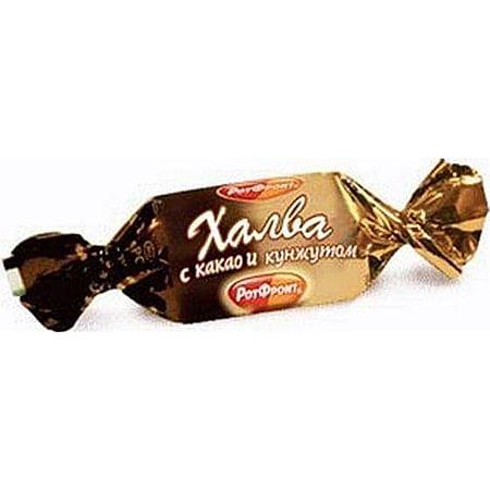 """Халва """"Рот Фронт"""" с какао и кунжутом весовая 1 кг."""