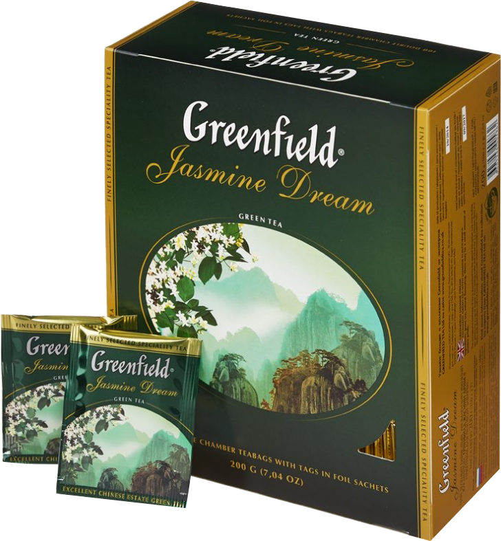 Чай Гринфилд Жасмин Дрим 100п.