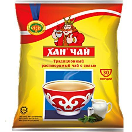 Калмыцкий чай «Хан чай» с солью и сливками, 30 пак.