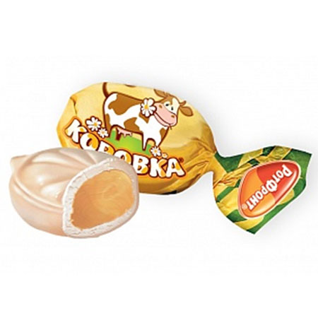 Конфеты карамель Коровка 1 кг.
