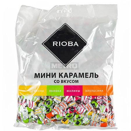 Карамель Риоба мини ассорти фруктовая, 500 гр