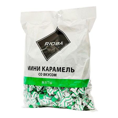 Карамель Риоба мини со вкусом мяты, 500г
