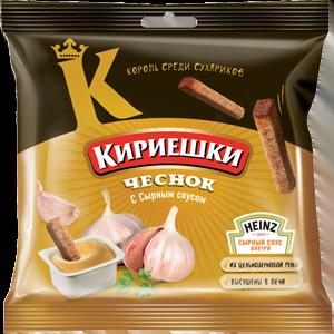 """Сухарики """"Кириешки"""" чеснок/сырный соус"""