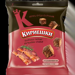 Сухарики «Кириешки» со вкусом бекона 40гр.
