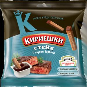 "Сухарики ""Кириешки"" стейк/соус барбекю"