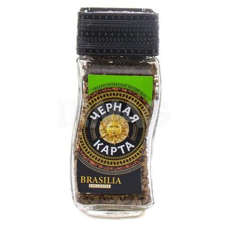 Кофе Чёрная Карта Exclusive Brasilia 95гр. с/б