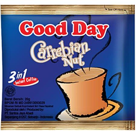 Кофейный напиток Good Day (Гуд Дей) Caribian Nut 3в1