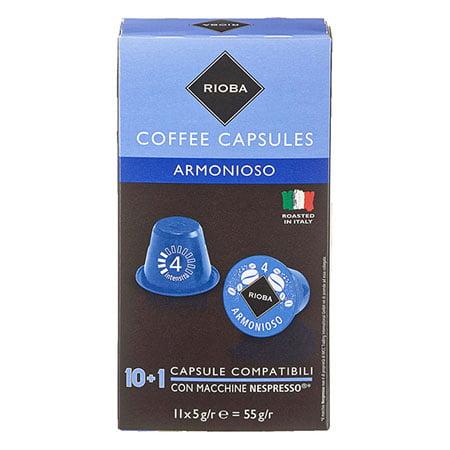 Кофе в капсулах Espresso Armonioso 10шт*5гр