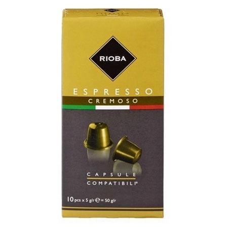 Кофе в капсулах Espresso Cremoso 10шт*5гр