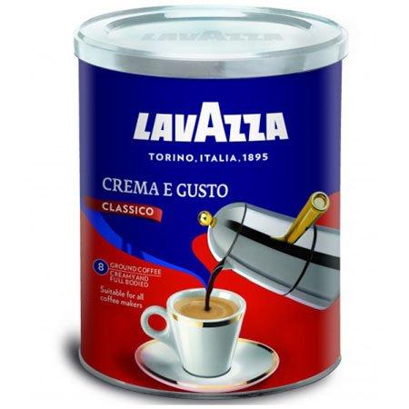 Кофе Лаваца (Lavazza) Крема Густо Классика, 250гр. молотый ж/б
