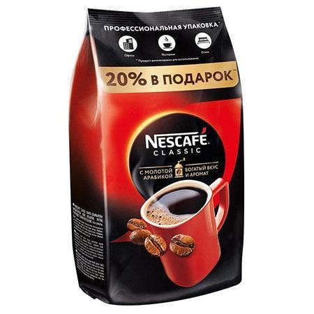 Кофе Нескафе Классик растворимый гранулированный 750г.