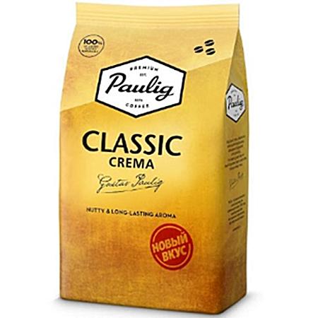 Кофе Паулиг Крема классик зерно 1кг.