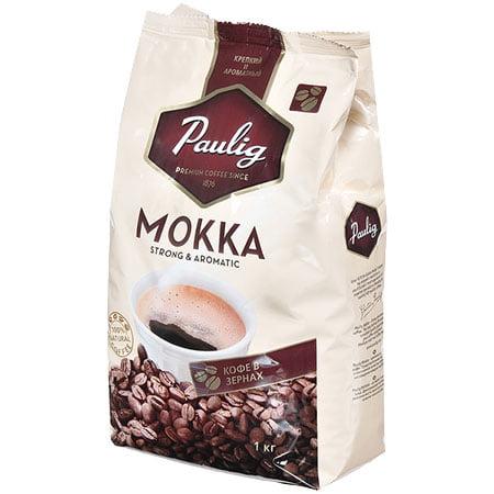 Кофе Паулиг Мокка зерно 1кг.