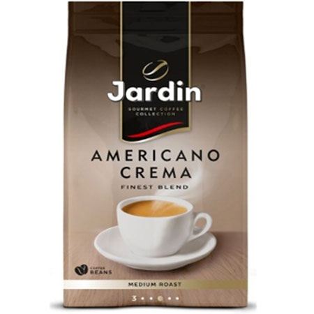 Кофе Жардин Американо Крема зерно, 1кг