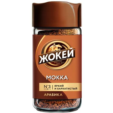 Кофе Жокей Мокка 95 гр. с/б