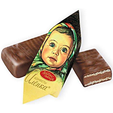 Конфеты шоколадные Алёнка весовые, 1кг.