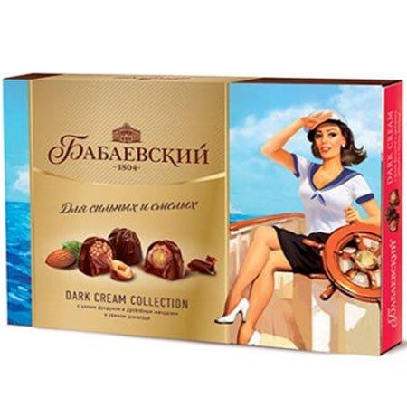Конфеты набор Бабаевский Dark Сream Сollection 23 февраля 200г