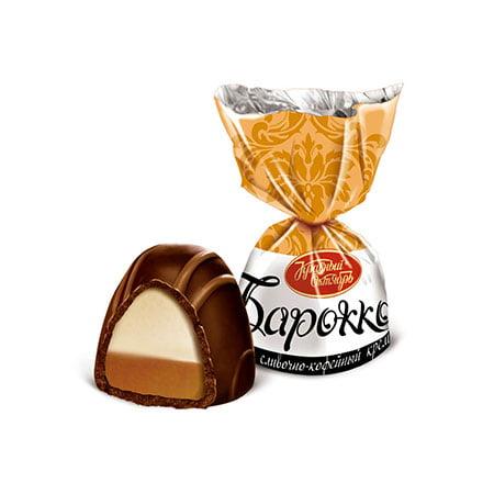 Конфеты шоколадные Барокко Сливочно-кофейный, 1кг.