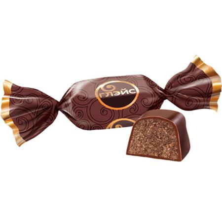 Конфеты весовые «Глэйс» с шоколадным вкусом 1кг.