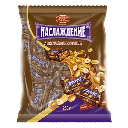 Конфеты «Наслаждение» с мягкой карамелью 250 гр