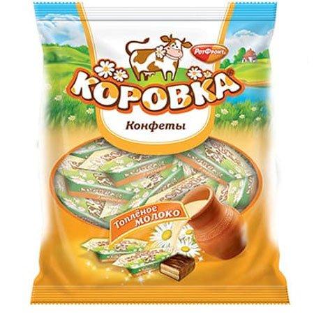 Конфеты Коровка Топленое молоко 250гр