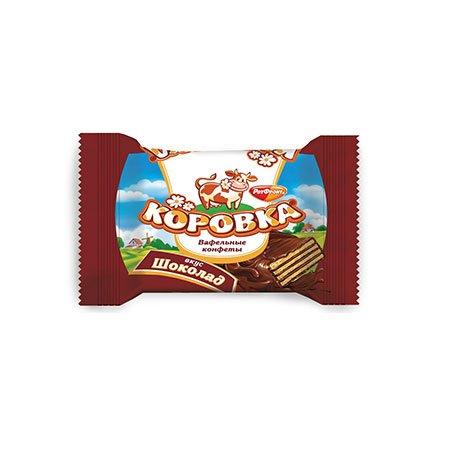 Конфеты Коровка Вафельные Шоколад 1 кг