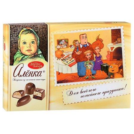 Конфеты набор Алёнка из молочного шоколада 185 г