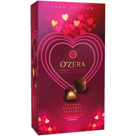 Конфеты O`Zera Love пралине с цельным фундуком, 230 г