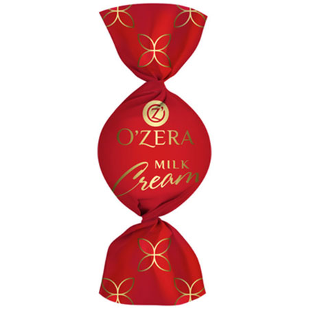 Конфеты O`Zera шоколадные Milk Cream 0,5 кг.