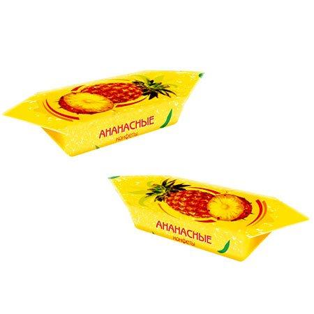 Конфеты Ананасные весовые, 1кг