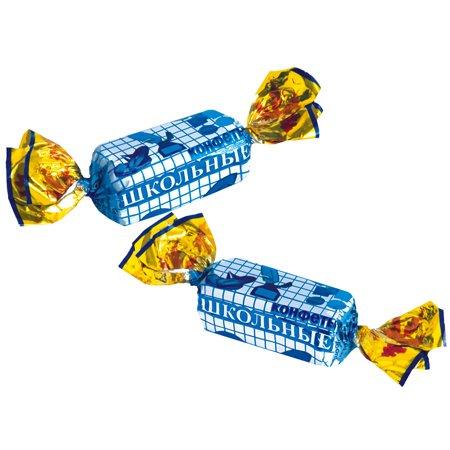 Конфеты «Школьные» весовые ШФН 1 кг.