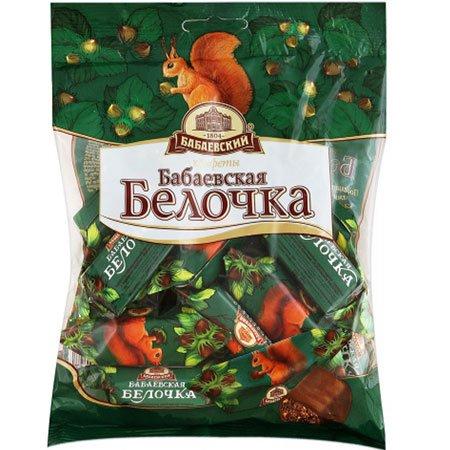 Конфеты шоколадные Бабаевские Белочка, 200 гр.